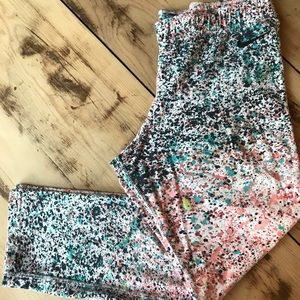 Nike Paint Splatter Cotton Leggings